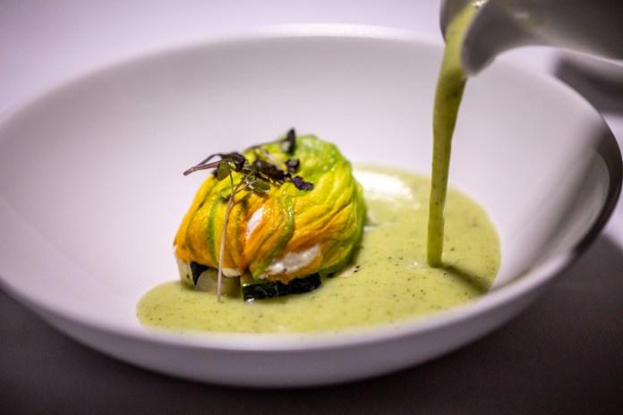Tablescape Zucchini