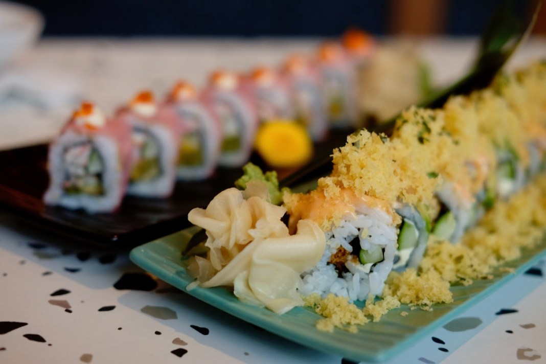 Takeshi-San sushi rolls