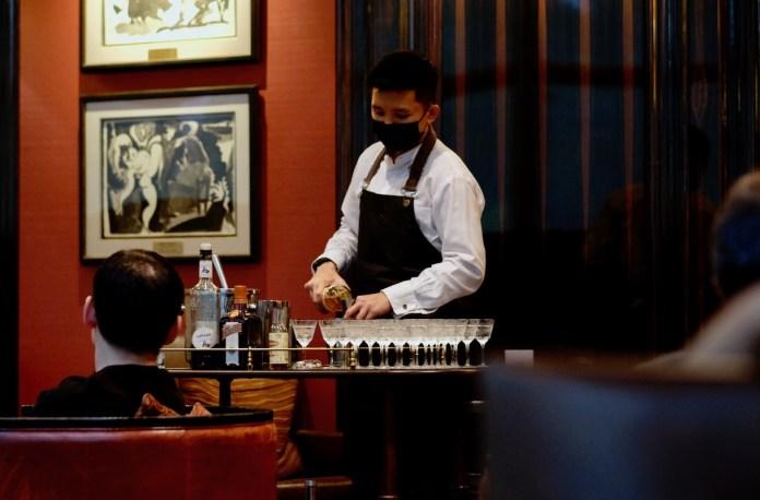 Violet Hour at Astor Bar