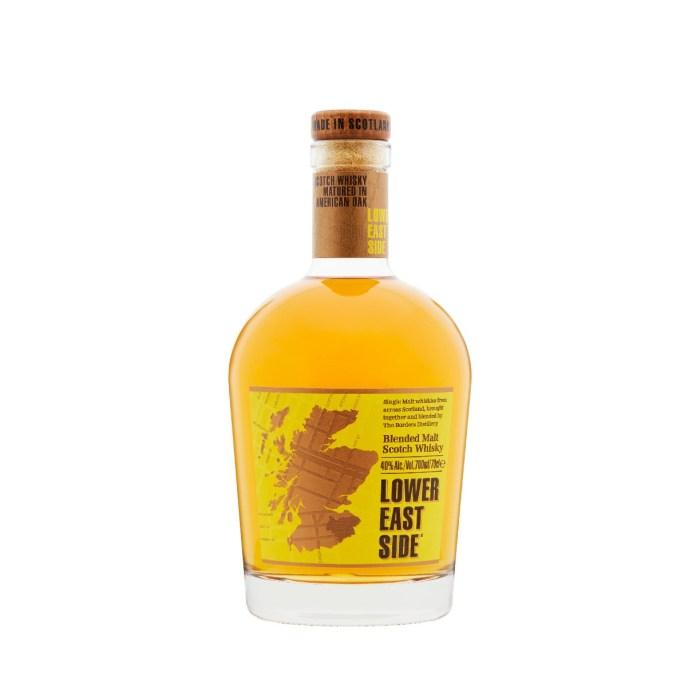Borders Distillery spirits - Lower East Side blended malt
