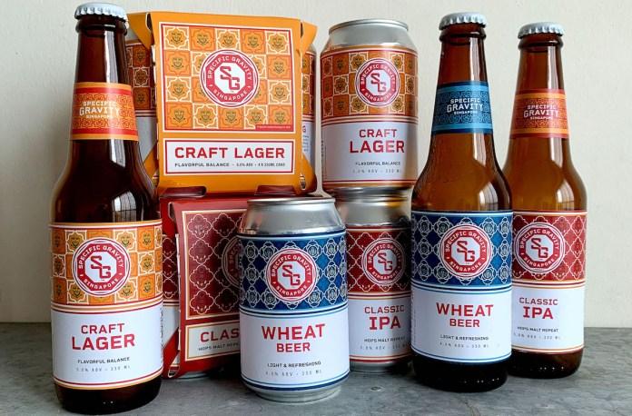 Specific Gravity Brewing Co beer range