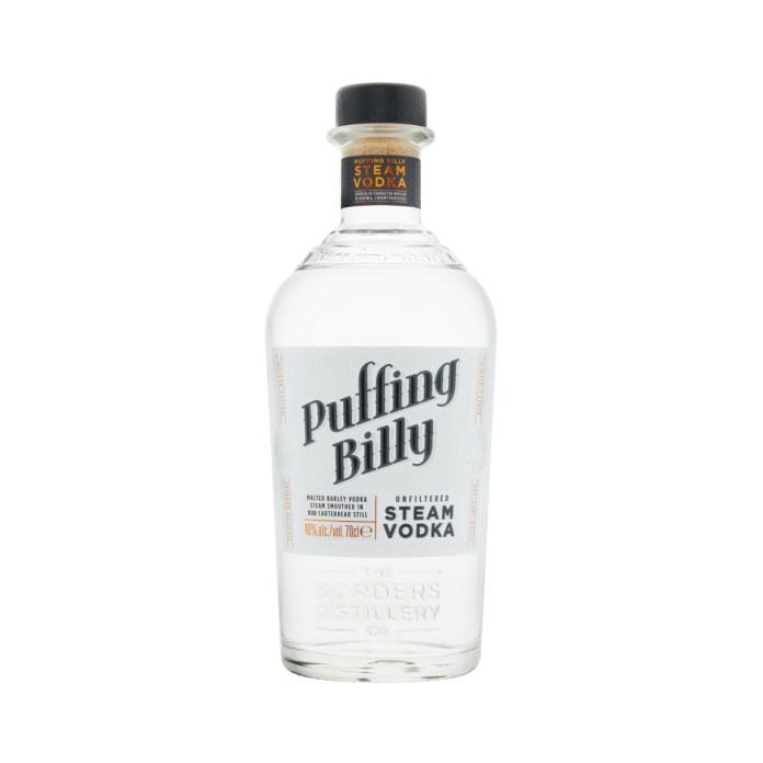 Borders Distillery spirits - Puffing Billy Steam Vodka