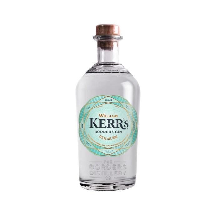 Borders Distillery spirits William Kerr's Borders Gin