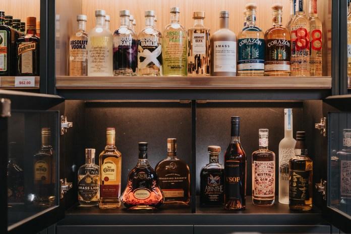 8 by Bottles & Bottles spirits shelf