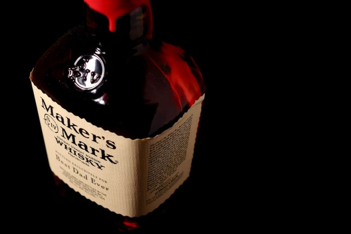 Maker's Mark personalised Father's Day bourbon whisky