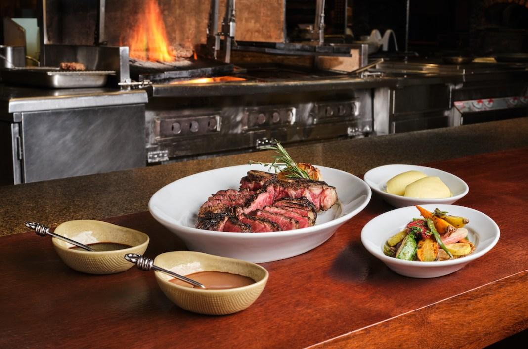 The Great Steak Escape - Mezza 9 Chargrilled over Jarrah wood, New South Wales Sangus beef 1kg Porterhouse