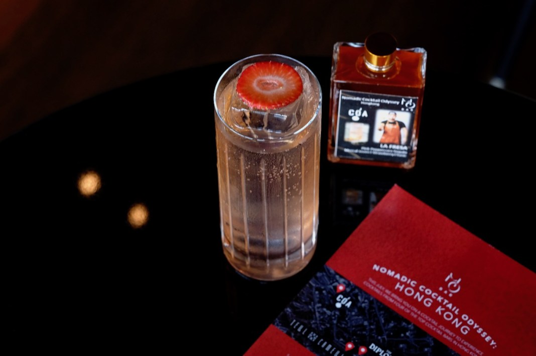MO Bar Nomadic Cocktail Odyssey Hong Kong edition