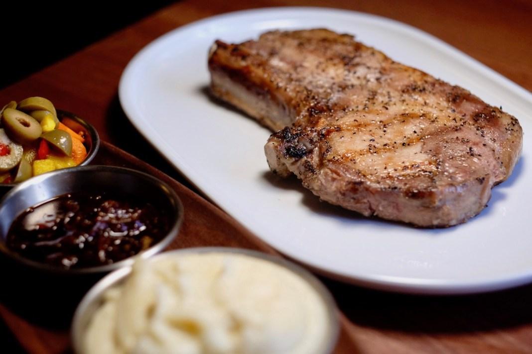 The Corner Grill - US Bone-In Pork Chop