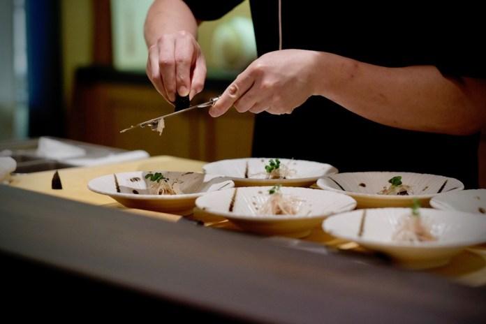 Fukui omakase truffle mackerel