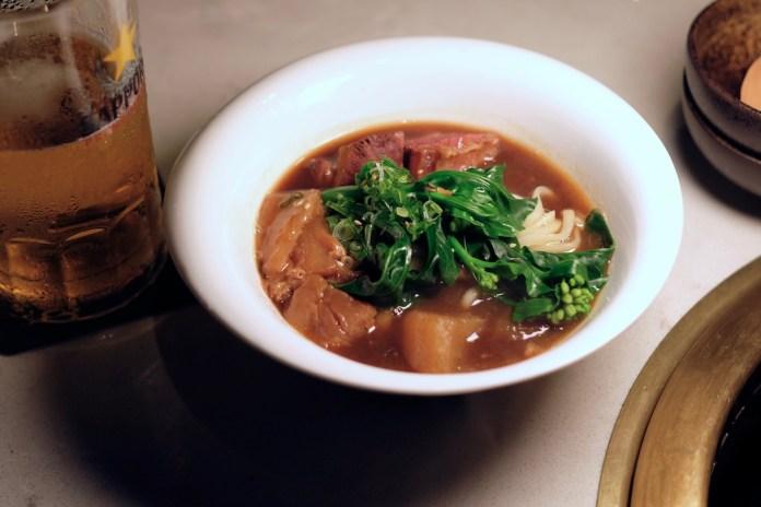Yen Social wagyu beef noodle