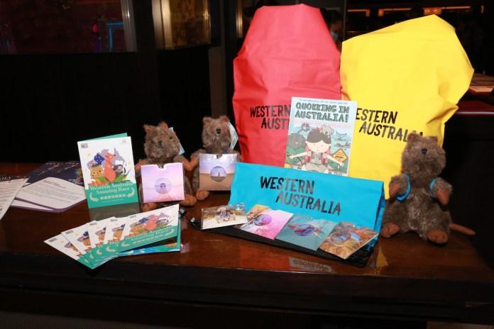 Tourism Western Australia x Dream Cruises goody bag