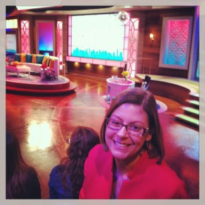 I'm at the Bethenny show!!
