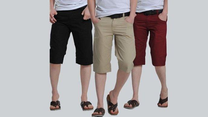 celana pendek pria dan karakteristiknya
