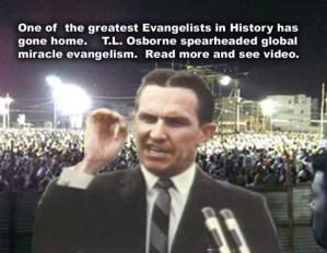 Healing Evangelist T.L. Osborn (1923-2013)