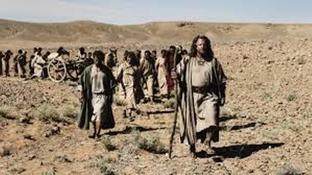 Moses & Israelites Exodus