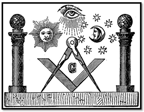 Masonic-Drawing-Sun-and-Moon