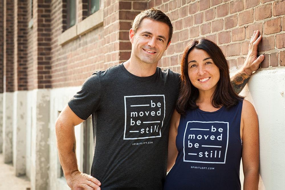 Andre Talbot and Catalina Moraga