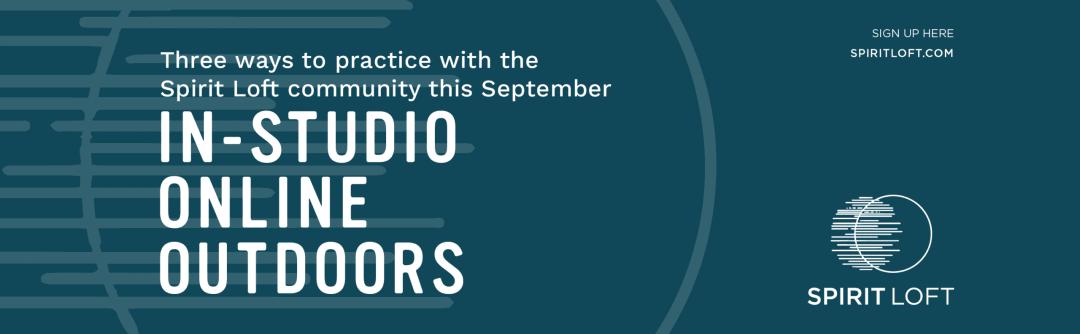 In-studio, online, outdoor classes