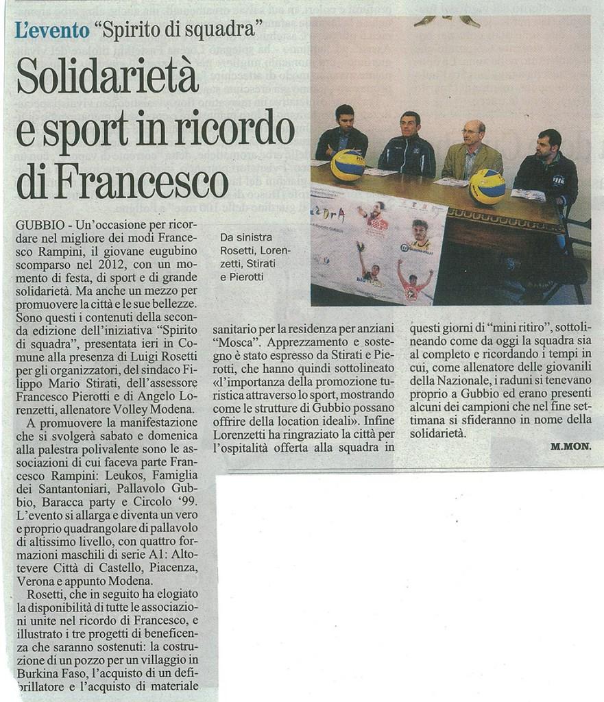 Giornale dell'Umbria - 02.10.14