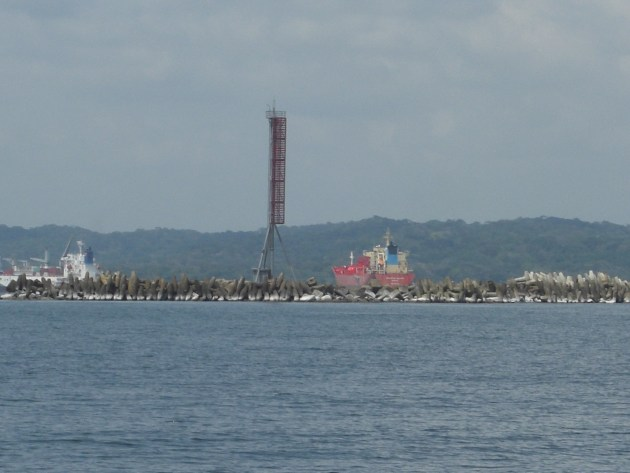 1-harbour breakwater and markers