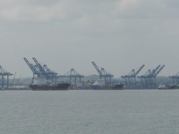 Colon harbour front docks