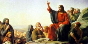 Jesus Preaching the Golden Rule