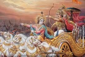 Krishna in chariot