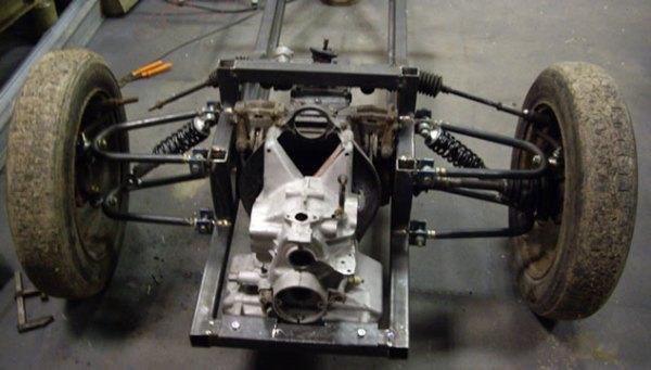 Le moteur est mise en place.