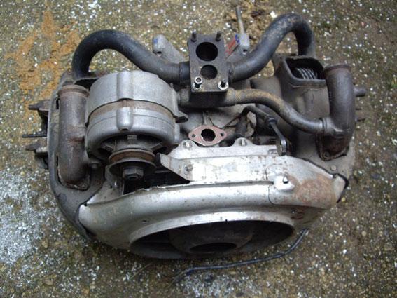 Le moteur 2cv/6  602 cc.