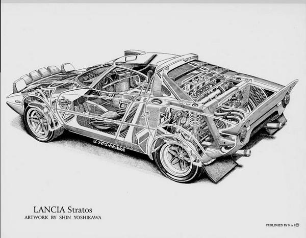 FILTRE    Lancia_Stratos_cutaway_by_Shin_Yoshikawa.77204234_std