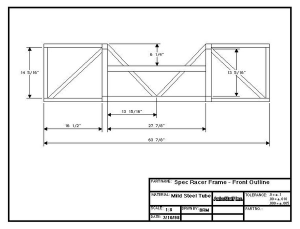 FILTRE   Plans Frame_Front_Outline