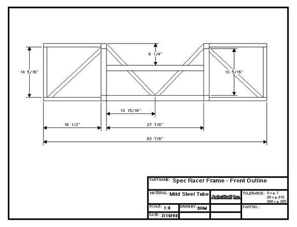 FILTRE Plans Frame_Front_Outline