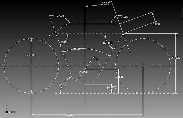 FILTRE frame geometry