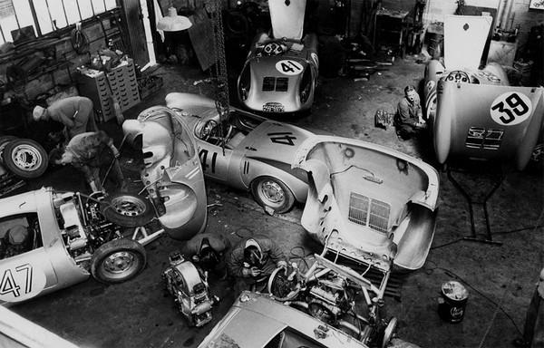 FILTRE Le Mans atelier 1954