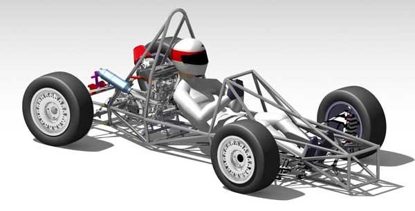 Exemples De Chassis Tubulaires De Monoplaces Pour