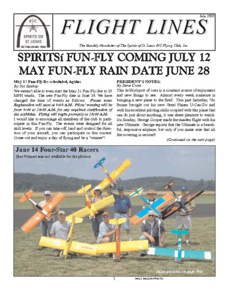Flight Lines (July-2003)
