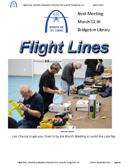 Flight Lines (March-2014)