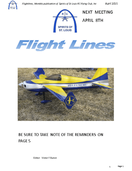 Flight Lines (April-2015)