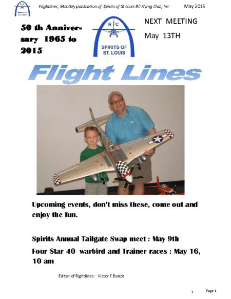 Flight Lines (May-2015)