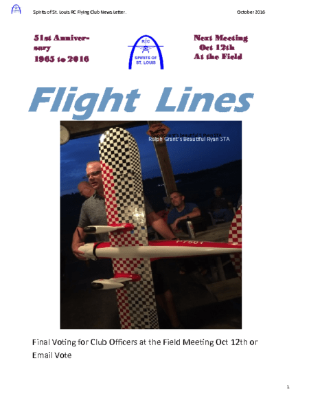 Flight Lines (October-2016)