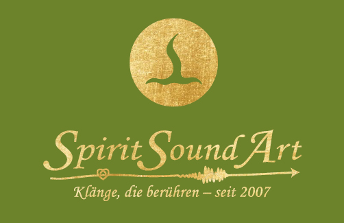 Logo SpiritSoundArt in Gold
