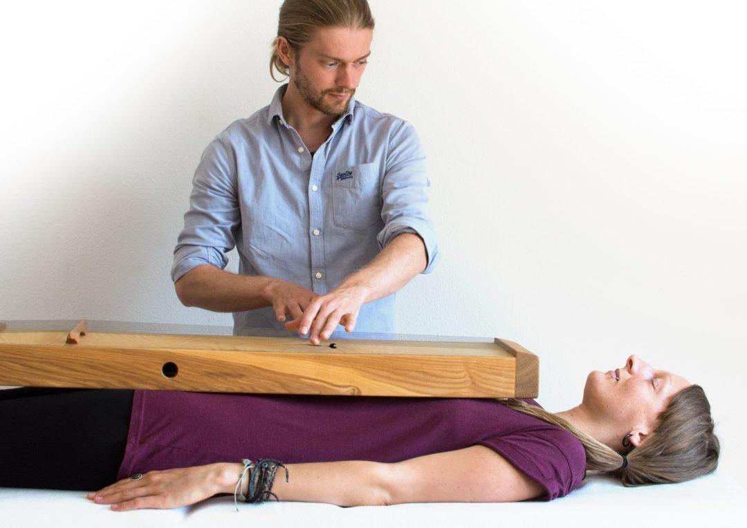 Therapie mit dem Monochord Cari