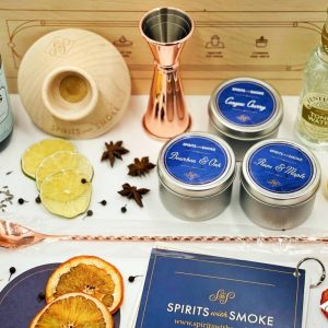 Smoked Gin and Tonic Kit Components