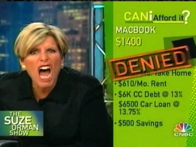 Why would she deny a MacBook?