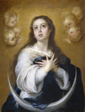 BlessedVirginMaryMurillo_Immaculate-Conception-portrait-sm REQUIRES HOT LINK