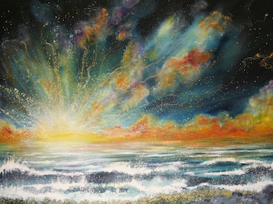 Image result for spiritual world painting