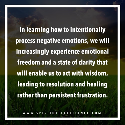 How to Process Negative Emotions: 3 Steps