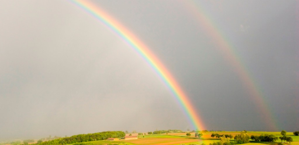 A rainbow's inspiration