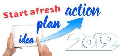 Start afresh this New Year. It's good for your health