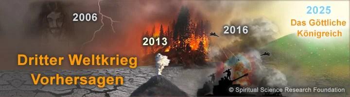3. Weltkrieg und Armageddon - Prophezeiung